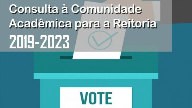 Somente duas chapas se inscreveram na Consulta eleitoral para Reitoria e Vice-reitoria da UNIRIO 2019/2023