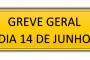 ASUNIRIO APOIA A GREVE GERAL MARCADA PARA O DIA 14 DE JUNHO DE 2019